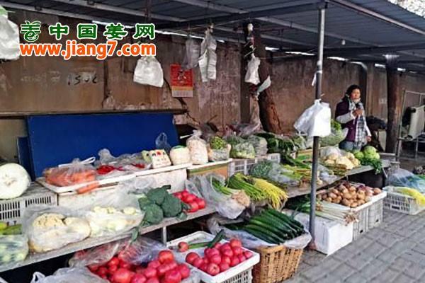 潍坊:气温走低,菜价持续走高 ()