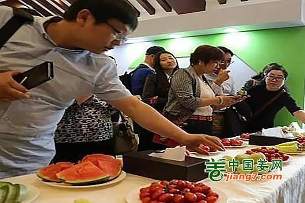 寿光蔬菜参展中国农产品区域品牌展示活动