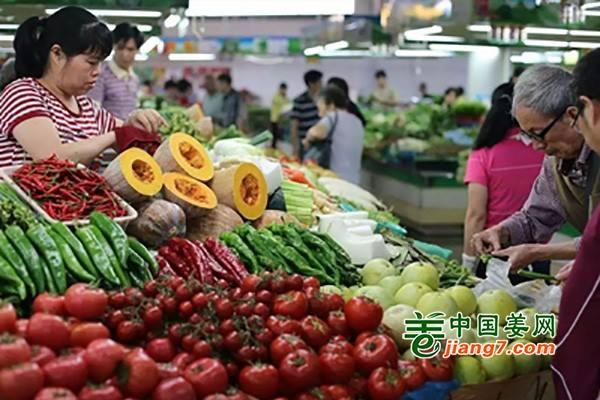 鞍山蔬菜价格走低