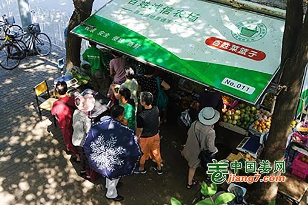 北京:规范管理社区蔬菜直通车 ()