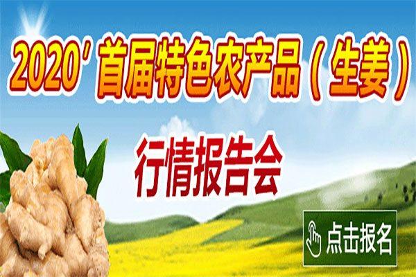 2020'首届特色农产品(生姜)行情报告会