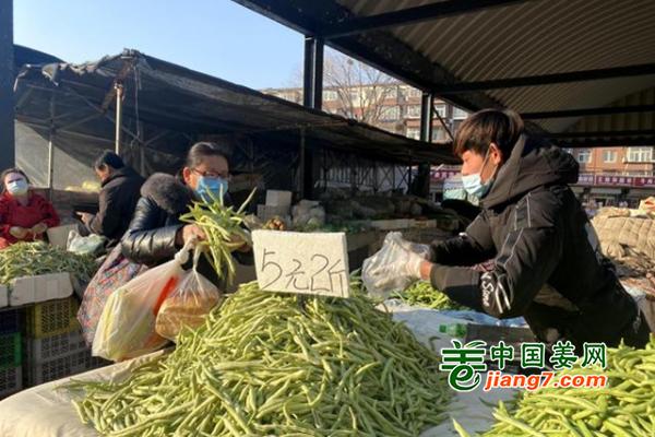 北京:气温下降 果蔬价格有上涨 ()