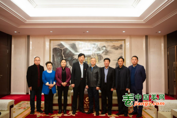 2020全国生姜行业高峰论坛——与会领导及嘉宾 ()