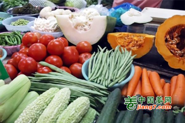 湖南益阳:当地菜价季节性上扬 ()